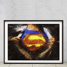 Superman, Alta Calidad A2 Cartel Impresora En Buen Arte Matt 250gsm Papel Fotográfico