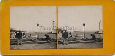 France Antibes Stereo Vintage Argentique Silver Print