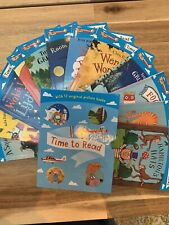 Time To Read Collection 12 Books Set (What The Ladybird Heard, A S... by Various