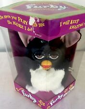 Rare Furby 1st Generation NIB Original 1998 Electronic Black and White