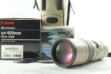 【MINT in Box + Case】 Canon EF 400mm f/5.6 L USM Teleohoto Lens From JAPAN