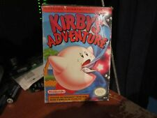 Kirby's Adventure French Language Version NES Complete in Box