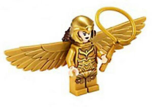 LEGO NEW MINIFIG DC Super Heroes Wonder Woman 1984 Gold Wings SH634 76157