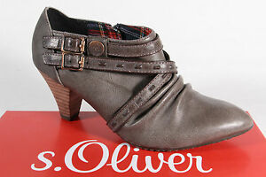 S.Oliver Slipper Pumps Ballerina Casual Shoes Pepper New