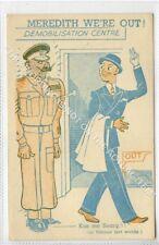 (Gb1106-480) Military Demob Meredith Art Comic c1945 VG-EX