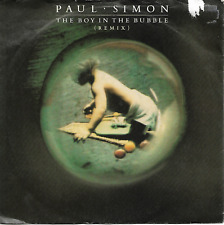 Paul Simon - The Boy In The Bubble (Remix) / Hearts And Bones - 80s Pop Rock