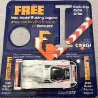 Jaguar Racing Model XJR9 Castrol Sponsored 1/43 Daytona 24 horas 1988 - CORGI UK