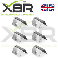 Wind / Rain Deflector Metal Fitting Clips Replacements For Heko G3 SNED Clip X6