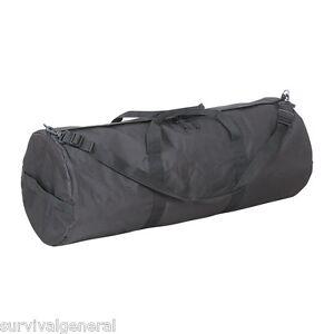 """39"""" x 15"""" Black Rip-Stop Duffel Bag Rifle Sports Travel Golf Clubs Survival Gear"""