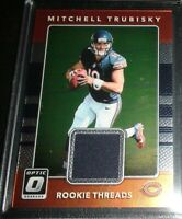 Mitchell Trubisky Rookie 2017 Optic Chrome Rookie Threads (Jersey) Chicago Bears