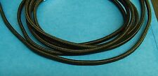 Black Rayon Covered Wire Vintage Antique Style Cloth Lamp Lights Cord repair