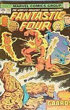 FANTASTIC FOUR #163 •Rich Buckler/Joe Sinnott/John Romita•Marvel 1975•VG+(4.5