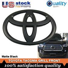 Genuine Toyota Tacoma Sequoia Tundra Front Grille Emblem Badge Matte Black