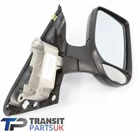 FORD TRANSIT MK6 MK7 COMPLETE DOOR MIRROR 2000 - 2014 RIGHT DRIVERS SIDE MANUAL