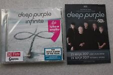 Deep Purple - Infinite CD POLISH STICKERS + FLYER