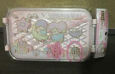 2012 NEW Sanrio LITTLE TWIN STARS pretty pastel plastic travel lunch box case!