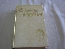 Harold Shryock - On Becoming a Woman - vintage