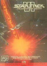 Star Trek VI The Undiscovered Country Region 4 DVD VGC