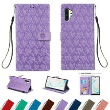For Samsung Galaxy Note10 Plus Note 8 9 Magnetic Leather Wallet Card Case Cover