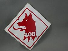 403 SQDN Red Wolf Airwing ? Fighter Group ? Decal Military Arms Show 1984