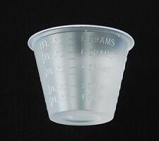 MEDICINE CUPS DISPOSABLE 1OZ PLASTIC GRADUATED 100/PKG