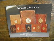 Catalogue de vente Drouot 21 & 22 décembre 2004 Millon & Associés Livres rares