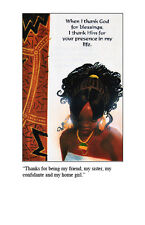 African American Greeting Cards (Thank You/Friendship Assortment)