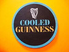 Vintage Beer Coaster ~ Cooled GUINNESS Irish Stout ~ Dundalk, IRELAND Breweriana