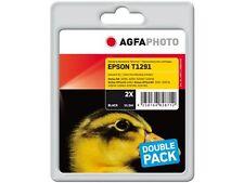 Agfa Photo Twinpack NO ORIGINAL T1291 2x negro para Lápiz Táctil Sx420 W