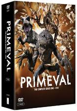 Primeval . The Complete Series . Season 1 2 3 4 5 . Staffel 1-5 . 11 DVD . NEU