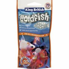 King British Goldfish Treats 40g (70 Treats) Coldwater Aquarium Fish Food