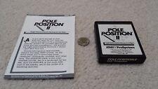 Atari 7800 Pole Position with manual