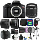 Canon EOS Rebel Digital SLR T6 18MP Camera with 18-55mm Lens and Accessories