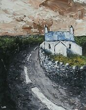WYN HUGHES - SIGNED LIMITED EDITION PRINT - WELSH COTTAGE ANGLESEY - WELSH ART
