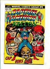 """CAPTAIN AMERICA AND THE FALCON #162 (6.0 CREASE) """"CAP GOES MAD!"""" 1973!"""