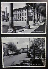 BOLOGNA - 2 CARTOLINE IMOLA - STAZIONE E COMUNE - ANNI '50
