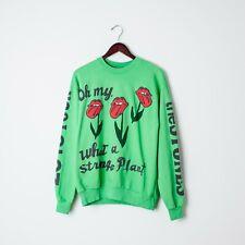 Cactus Plant Flea Market Graphic Sweatshirt / Rolling Stones 2019 tour / Size M