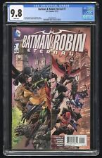 Batman & Robin Eternal #1 CGC 9.8 (DC 12/15) 1st app David Cain as Orphan New 52