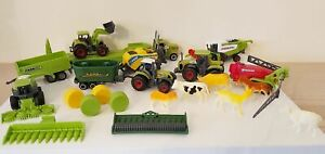 Farm Tractor Playset - 23 Items - Diecast Combine Truck Animals Toy NEW