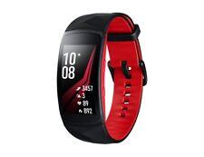 Genuine Original Samsung Gear Fit 2 Pro Large - Black/Red