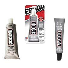 E6000 Industrial Strength Glue Adhesive Permanent Bond Multi Purpose Choose Size