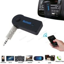 Mini Wireless Bluetooth 3.5mm Car Aux Audio Stereo Music Receiver Adapter Mic