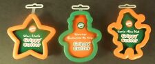 New listing Wilton Grippy Cutters Set of 3 New Christmas Holiday Star Snowman Santa