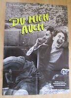 Filmplakat : Du mich auch ( Dani Levy, Helmut Berger , Anja Franke )