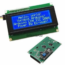 IIC/I2C/TWI/SPI Serial Interface 2004 20X4 Character LCD Module Display Blue