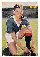 John Greig Glasgow Rangers 1961-1978 mano originale firmato RIVISTA taglio