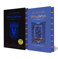 Harry Potter Philosopher's Stone Chamber of Secrets Hardcover Ravenclaw Editions