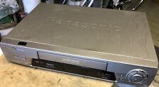 Videoregistratore PANASONIC Super Drive Vhs Piastra Lettore Vintage FUNZIONANTE