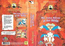 VHS) Die Schatzinsel 2 -Mit John Silver in der Höhle - Zeichentrickfilm-TV-Serie