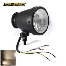 Motorcycle 4Inch Bullet Head Light Universal fit Harley Chopper Bobber Cafe Race